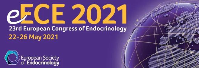 e-ECE 2021' | 23rd European Congress of Endocrinology | 22-26 May 2021