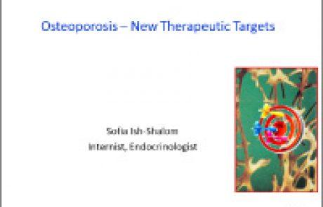 אוסטאופורוזיס – מטרות טיפוליות חדשות